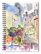 Santa Margherita In Italy 07 Spiral Notebook