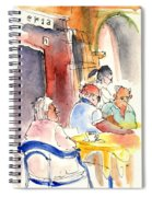 Santa Margherita In Italy 09 Spiral Notebook