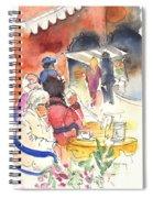 Santa Margherita In Italy 10 Spiral Notebook