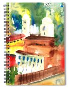 Santa Margherita In Italy 13 Spiral Notebook