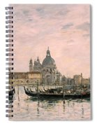 Santa Maria Della Salute And The Dogana Spiral Notebook