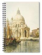 Santa Maria Della Salute Spiral Notebook