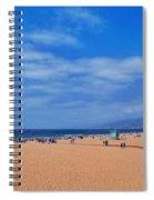 Santa Monica Beach California Spiral Notebook