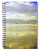 Santa Monica Beach Spiral Notebook