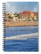 Santa Monica Beach View  Spiral Notebook