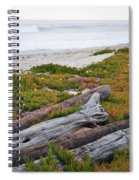 Santa Monica Mountains County Line Beach Spiral Notebook