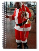 Santa New Orleans Style Spiral Notebook
