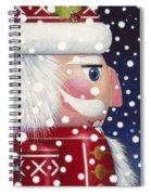 Santa Nutcracker Spiral Notebook
