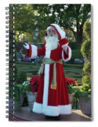 Santa Walt Disney World Spiral Notebook