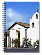 Santa Ynez Mission Solvang California Spiral Notebook