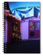 Santa's Grotto In The Winter Gardens Bournemouth Spiral Notebook