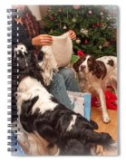 Santa's Helpers Spiral Notebook