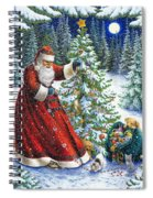 Santa's Little Helpers Spiral Notebook