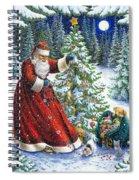 Santa's Little Helpers Spiral Notebook