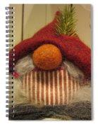 Santas Nose Spiral Notebook