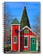 Santas Workshop Spiral Notebook