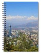 Santiago  Chile Spiral Notebook