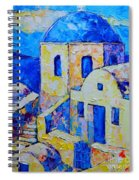 Santorini Afternoon Spiral Notebook