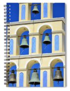 Santorini Bell Tower 2 Spiral Notebook