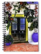Santorini Doorway 2 Spiral Notebook