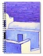 Santorini Houses Spiral Notebook