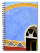 Santorini Window Spiral Notebook