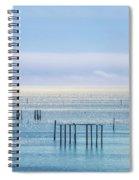 Sapphire Horizon I Spiral Notebook