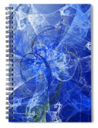 Sapphire In Blue Lace Spiral Notebook