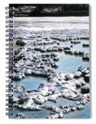 Sapphire Pool Yellowstone National Park Spiral Notebook