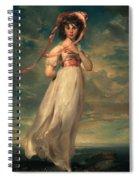 Sarah Goodwin Barrett Moulton Pinie 1794 Spiral Notebook
