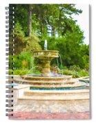 Sarah Lee Baker Perennial Garden 5 Spiral Notebook