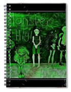 Sarah's Monster High Collection Frankenstein Effect Spiral Notebook