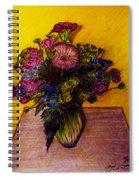 Sarah's Sweet 16 Flowers Spiral Notebook