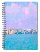 Sarasota Via Ringling Bridge Spiral Notebook