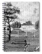 Saratoga, New York, 1794 Spiral Notebook