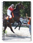 Saratoga Race Track Paddock Spiral Notebook