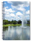 Saratoga Springs Resort Walt Disney World Spiral Notebook