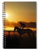 Saratoga Sunrise  Spiral Notebook
