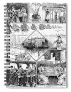 Sardine Fishery, 1880 Spiral Notebook