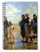 Sargent's En Route La Peche -- Setting Out To Fish Spiral Notebook