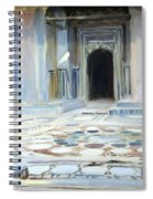 Sargent's Pavement In Cairo Spiral Notebook