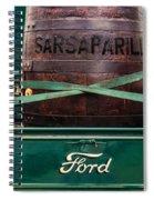 Sarsaparilla Spiral Notebook