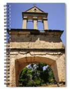 Sassia Monastery Bell Tower Spiral Notebook