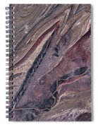 Satellite View Of Big Horn, Wyoming, Usa Spiral Notebook