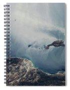 Satellite View Of California Coastline Spiral Notebook