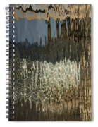 Satin Silk And Moire Abstract - Vertical Spiral Notebook