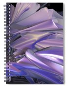 Satin Wing By Jammer Spiral Notebook