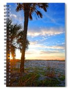 Saturated Sunrise Spiral Notebook
