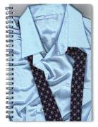 Saturday Morning - Men's Fashion Art By Sharon Cummings  Spiral Notebook
