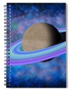 Saturn Journey Spiral Notebook
